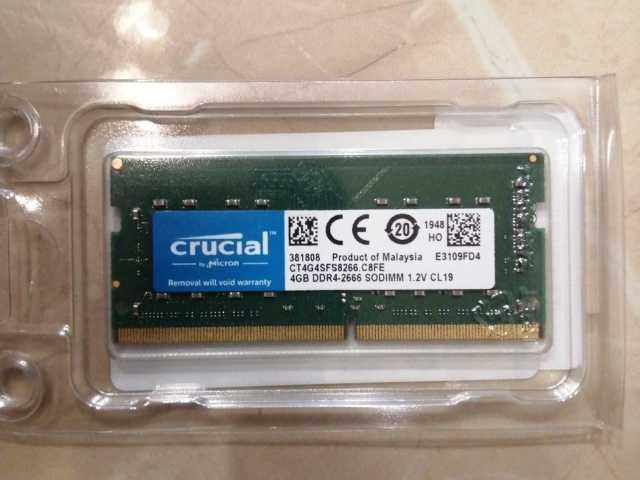 Продам: Оперативная память DDR4 4Gb