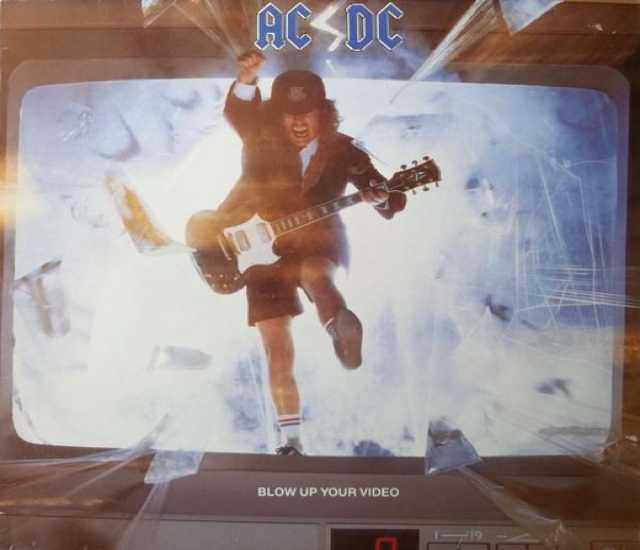 Продам: AC/DC – Blow Up Your Video LP UK/EU 1st