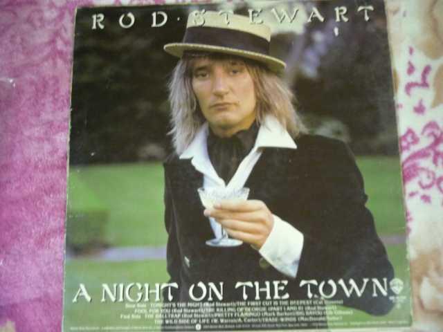 Продам: Rod Stewart – A Night On The Town LP Ger