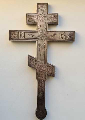 Продам: Старинный напрестольный (требный) крест