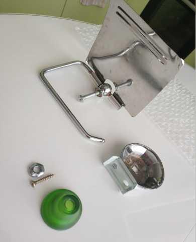 Продам Держатель туалетной бумаги металл хром