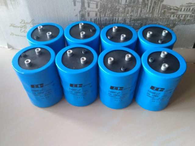 Продам электролитические конденсаторы БУ