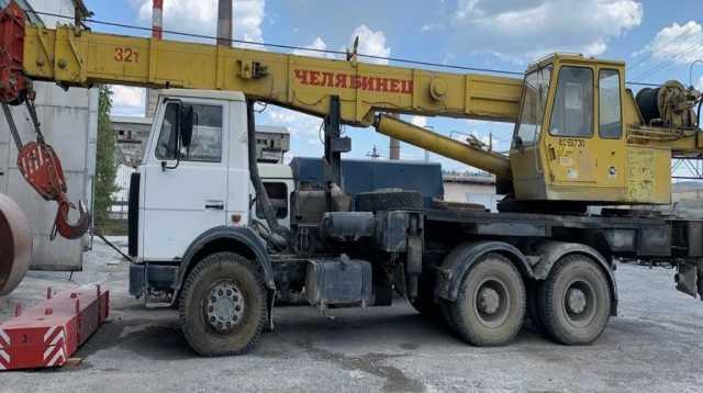 Продам: Продам автокран 32 тн, шасси МАЗ