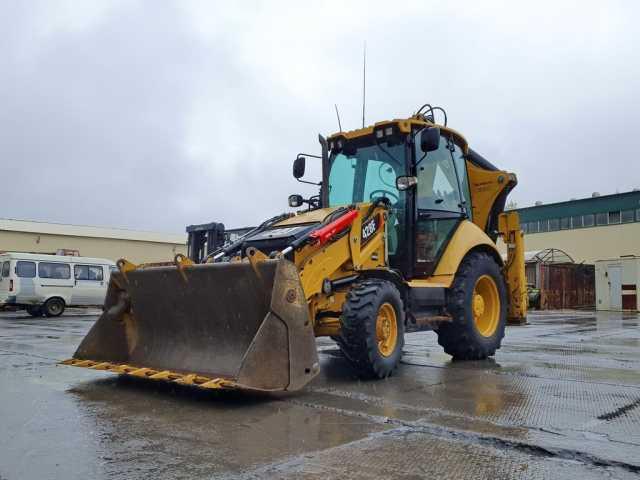 Продам: CAT 428F экскаватор-погрузчик 2014 года