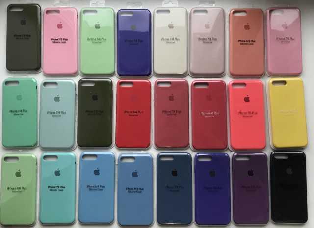 Продам: Чехлы на iPhone silicone case