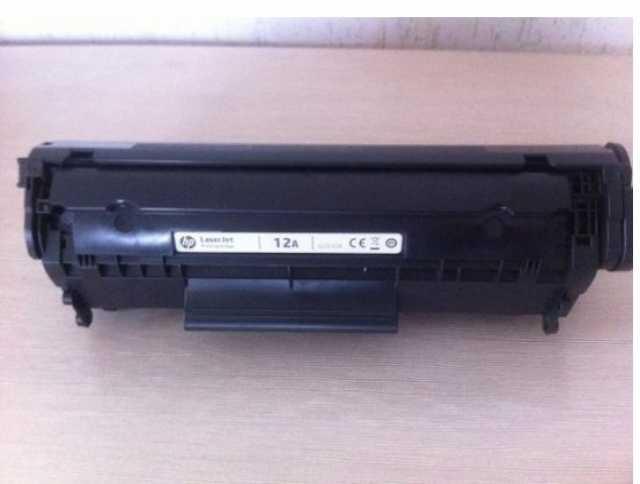 Продам: Б/У картридж HP Q2612A
