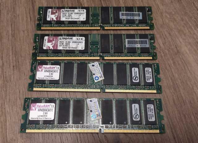 Продам: Оперативная память Kingston KVR400X64C3A
