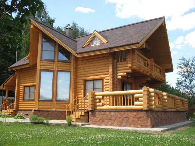 Предложение: Строим деревянные дома