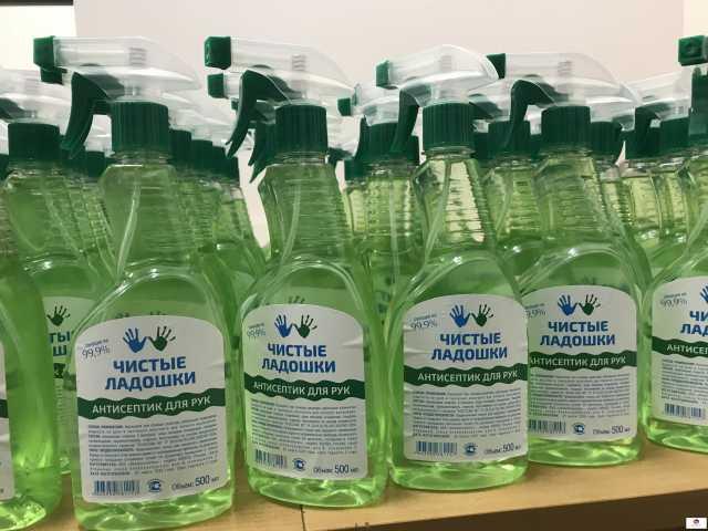 Вакансия: Упаковщики антисептиков для рук