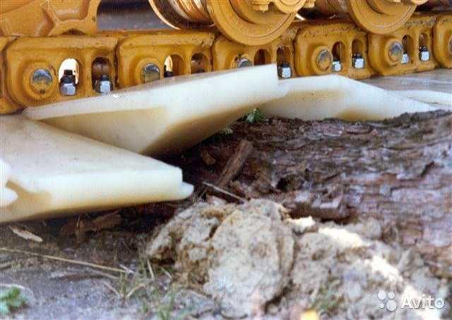Продам: Пластиковые траки на экскаватор