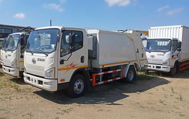 Продам: Новый мусоровоз FAW 4x2 Tiger V 2019