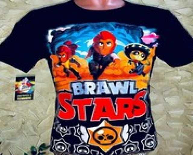 Продам: Футболки светящиеся brawl stars (бравл