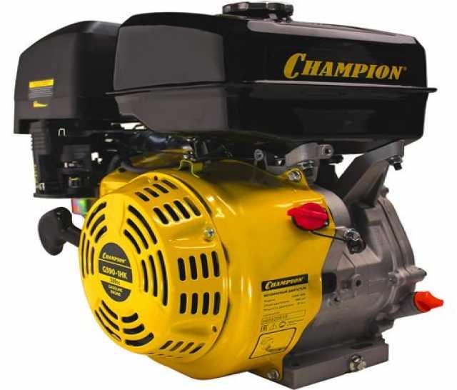 Продам: champion двигатель g390-1hk