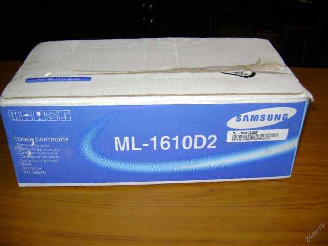 Продам: Картридж samsung ML1610D2