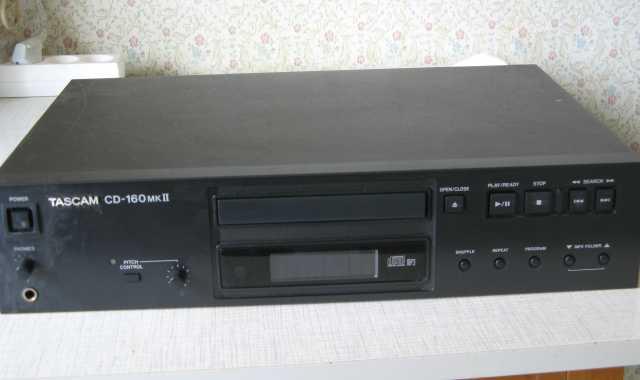 Продам: CD PLAYER TASCAM 160 MK2