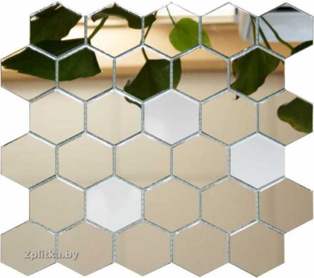 Продам: мозаика зеркальная соты (шестигранник)