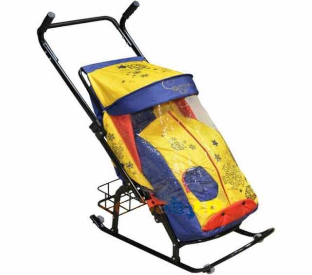 Продам: санки- коляску