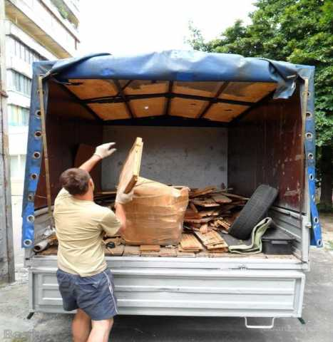 Предложение: Вывозим мебель, ветки, мусор, хлам, вещи