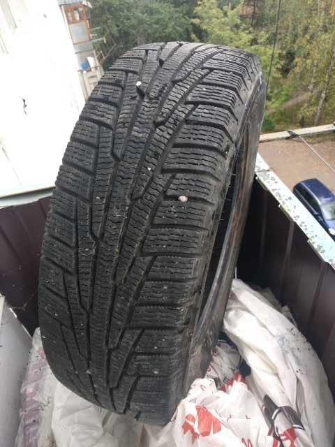 Продам: Зимние шины(липучка), размер-195*65*R15