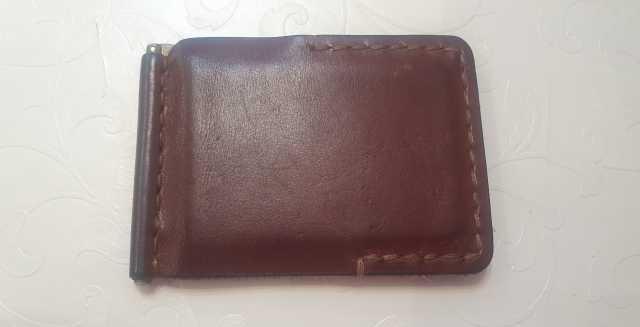 Продам: зажим для денег натуральная кожа