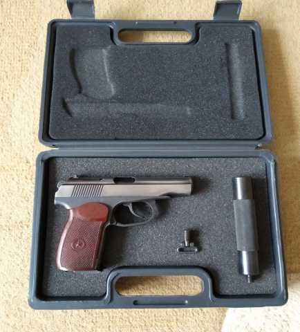 """Продам: Пневматический пистолет МР-654К """"бородач"""