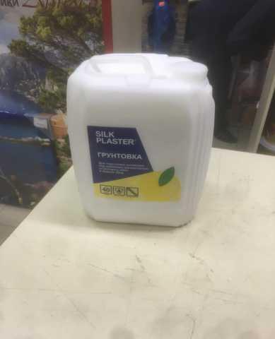 Продам Фирменные грунтовки и лаки SILK PLASTER