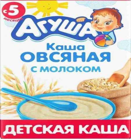 Продам: Каша овсяная с молоком «Агуша» с 5 мес
