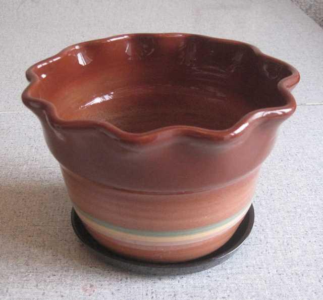 Продам: Горшок цветочный керамический