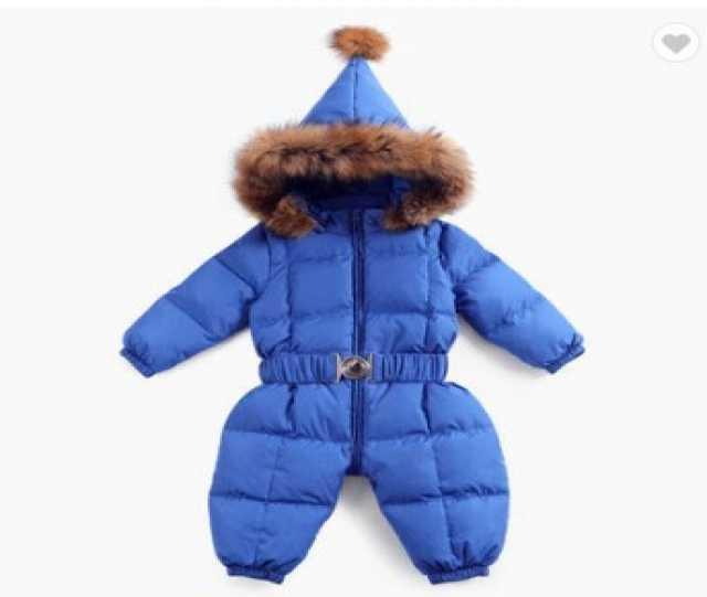 Продам: Детские зимние комбинезоны для девочек и