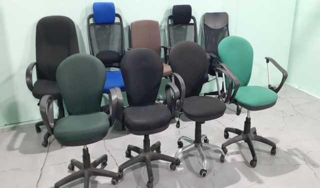 Продам: Кресла офисные б. у. разных расцветок, ф