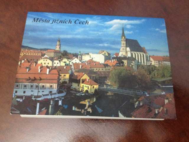 Продам: Набор открыток Чехии