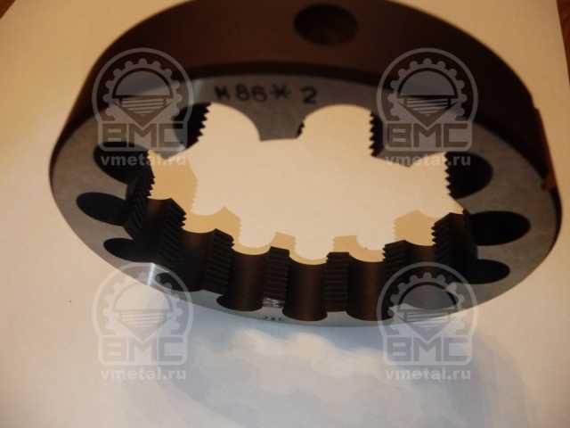 Продам: Плашка М75х1,5 для ремонта осей полуприц