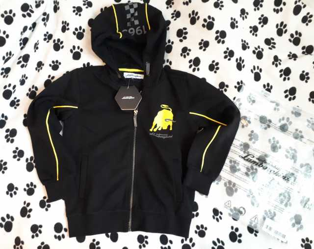 Продам: Куртка-толстовка, Automobili Lamborghi