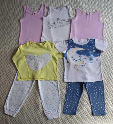 Продам: Пижамы, майки на девочку, размер 92-98