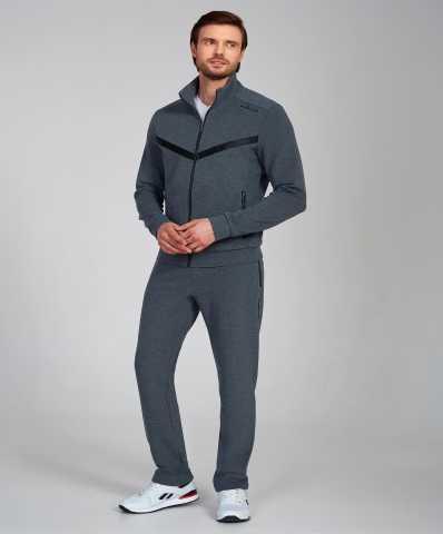 Продам: Серый мужской спортивный костюм