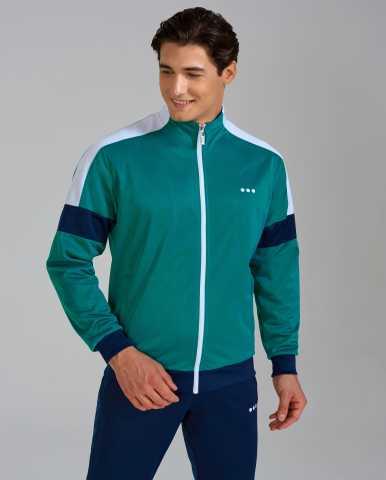 Продам: Зеленый спортивный мужской костюм