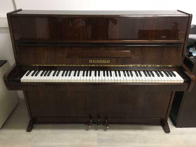 Продам: Чешское пианино Weinbach с бесплатной до