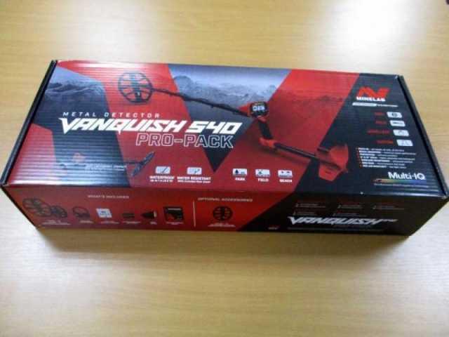 Продам: Металлоискатель Minelab VANQUISH 540 Pro