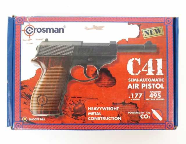 Продам: пневматический Crosman C41Walther P.38