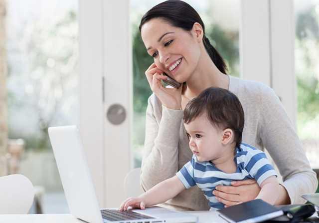 Вакансия: Работа в интернете для мамочек в декрете
