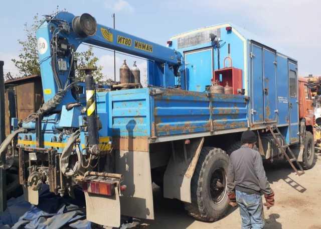 Продам Продам КАМАЗ-43118,с КМУ 2013г/в