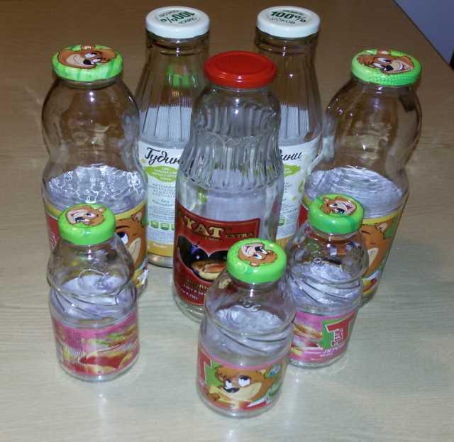 Продам: Бутылки из-под сока 0.75, 1 л., 0.25 л