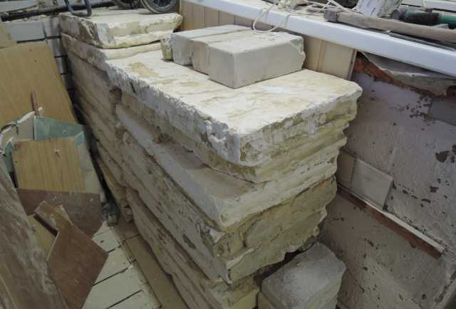 Отдам даром: Блоки строительные перегородочные
