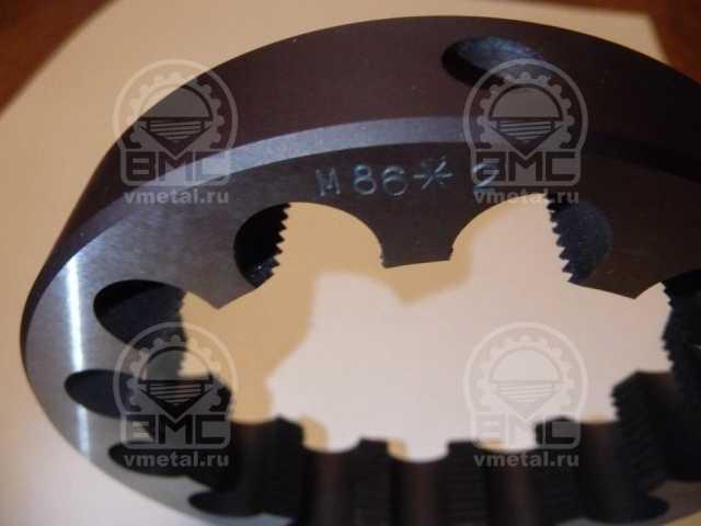 Продам: Плашка М75х1,5 для ремонта осей
