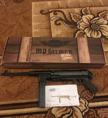 Продам: Пневматически Автомат пулемёт МР-40