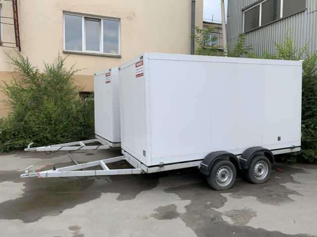 """Продам: Прицеп - фургон изотермический""""NIKSEN"""""""