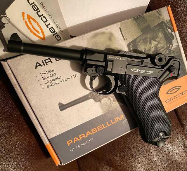 Продам: Пистолет пневматический Gletcher Parabel