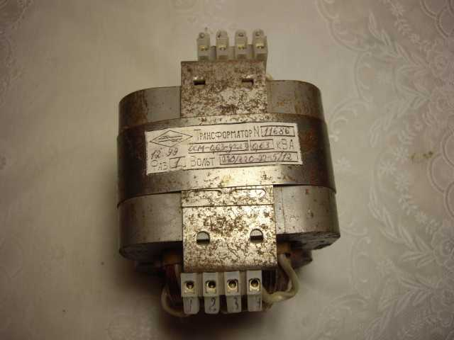 Продам: Трансформатор ОСМ1 - 0.63УХЛ3 - 630 Ватт