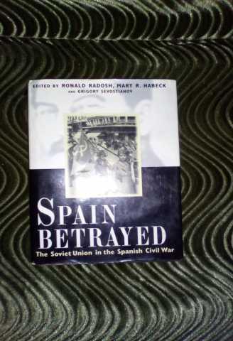 Продам: Книга о Гражданской войне в Испании на а