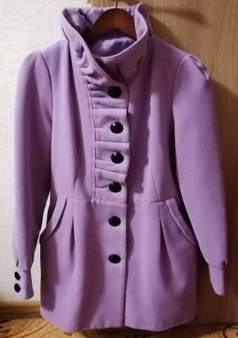 Продам: Фирменное пальто сиреневого цвета